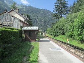 Image illustrative de l'article Gare des Praz-de-Chamonix