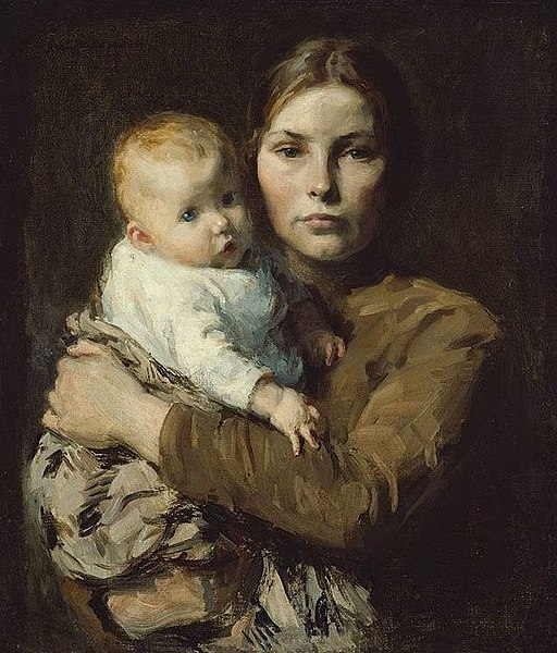 Gari Melchers - Mother & Child