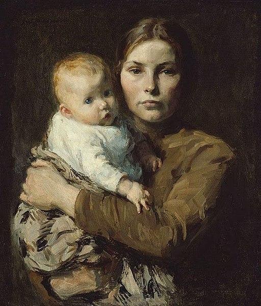 Gari Melchers - Mother & Child