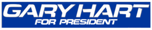 Gary Hart - campaign logo