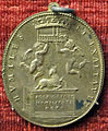 Gasparo mola, medaglia di san carlo borromeo, 1610, verso con humilitas (argento).JPG