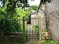 Gate and path from Feniton churchyard - geograph.org.uk - 1320201.jpg