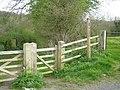 Gated Bridleway - geograph.org.uk - 777949.jpg
