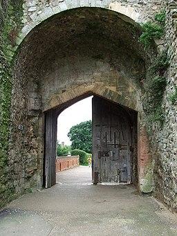 Gated Entrance - geograph.org.uk - 947480