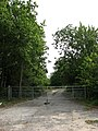 Gated entrance to nowhere - geograph.org.uk - 555143.jpg