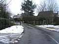 Gated road to Weedon - geograph.org.uk - 1635794.jpg