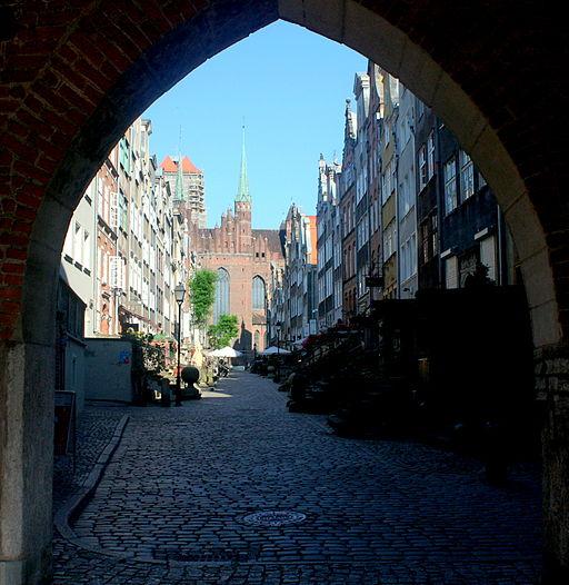 Gdańsk Ulica Mariacka 008