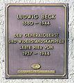 Gedenktafel Goethestr 24 (Lichf) Ludwig Beck.JPG