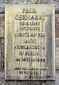 Gedenktafel Nikolaikirchplatz (Mitte) Paul Gerhardt 2.jpg