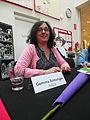 Gemma Armengol a la biblioteca de Llinars del Vallès.JPG