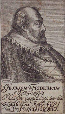 Georg Friedrich I., Brandenburg-Ansbach, Markgraf