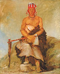 A'h-sha-la-cóots-ah, Mole in the Forehead, Chief of the Republican Pawnee