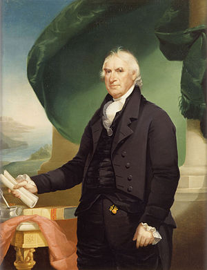 11th United States Congress - President of the Senate George Clinton (as painted in 1814)