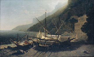 View at Amalfi, Bay of Salerno