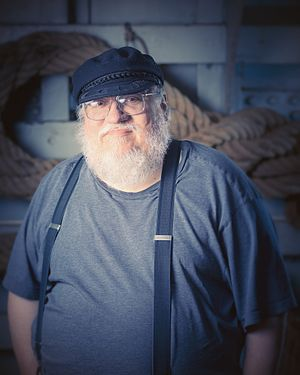 A Song of Ice and Fire - George R. R. Martin at Archipelacon in Mariehamn, 2015.