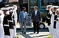 George W Bush and Mohammed bin Rashid al-Maktoum at Camp David 2008 (1).jpg