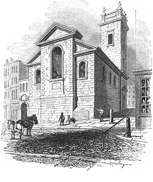 St George Botolph Lane - Image: George botolph godwin