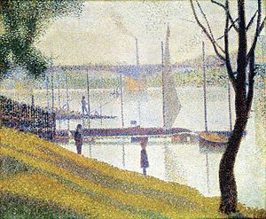 Courbevoie - Image: Georges Seurat 012