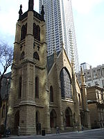 Gerald Farinas Chicago Cathedral of Saint James from North.jpg
