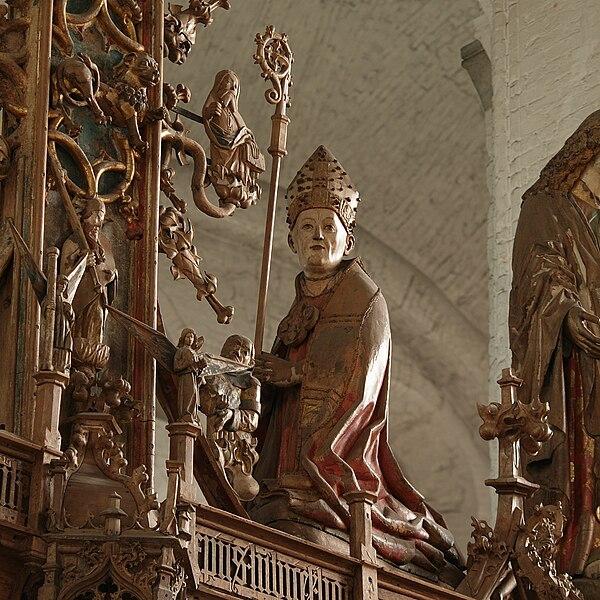 File:Germany Luebeck Cathedral triumphcrucifix Krummendiek.jpg