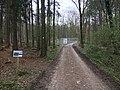 Gesperrter Hermannsweg mit Umleitung um das Sperrgebiet.jpg