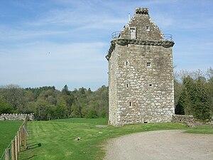 Gilnockie Tower - Image: Gilnockie Tower April 29 2007