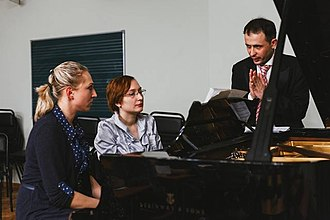 Giorgi Latso - Giorgi Latso giving a Masterclasses at the Moscow Conservatory, (2017)