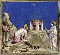Giotto di Bondone - No. 4 Scenes from the Life of Joachim - 4. Joachim's Sacrificial Offering - WGA09173.jpg