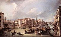 Giovanni Antonio Canal, il Canaletto - Grand Canal - Looking North-East toward the Rialto Bridge - WGA03856.jpg