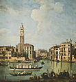 Giovanni Battista Cimaroli A View of the Canal Grande with San Geremia, Palazzo Labia and the Entrance.jpg