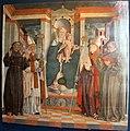 Girolamo da treviso il vecchio, madonna in tronoe santi, dal castello di s.salvatore a collato.JPG
