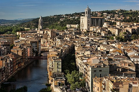 Girona des de aire