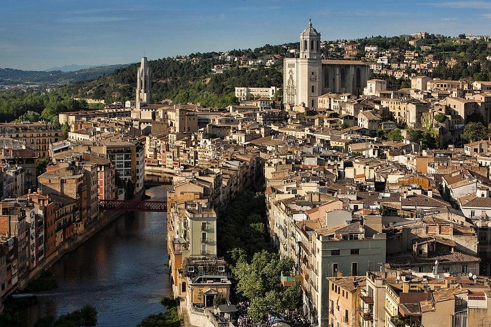 Girona des de l aire