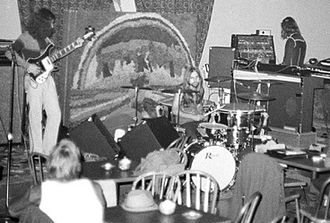 Glass (band) - Glass at the Court C Coffeehouse, 1972