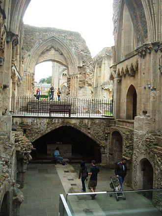 Glastonbury Abbey - Lady Chapel interior