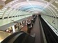 Glenmont station from mezzanine.jpg