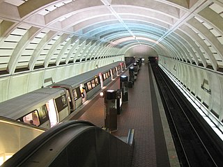 Glenmont station from mezzanine.jpg