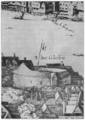 Globe Theatre - second Globe Theatre - Hollar's View of London - 1647.png