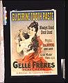 Glycerine tooth paste - Gellé Frères perfumers 6, Avenue de l'Opéra, 6, Paris - J. Chéret. LCCN2008680274.jpg