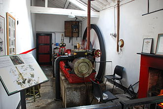 Glynllifon - The famous steam engine