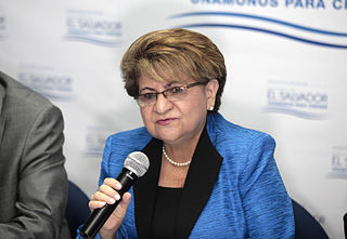 Violeta Menjívar Salvadoran politician