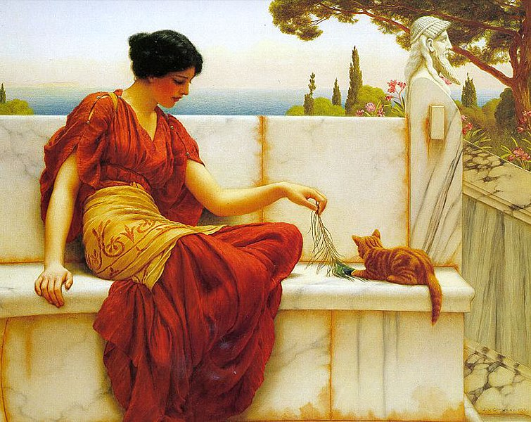 File:Godward - The Tease - 1901.jpg