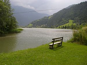 Möll - Image: Goessnitzer stausee