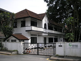 Goethe-Institut - Goethe Institut Kuala Lumpur. It has since moved to an office building on the same road, next to the American embassy