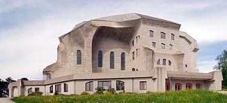 Goetheanum - Second Goetheanum, south side view