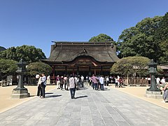 Gohonden of Dazaifu Temman Shrine 2.jpg
