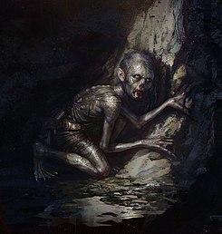 Gollum s journey commences by Frederic Bennett (detail).jpg