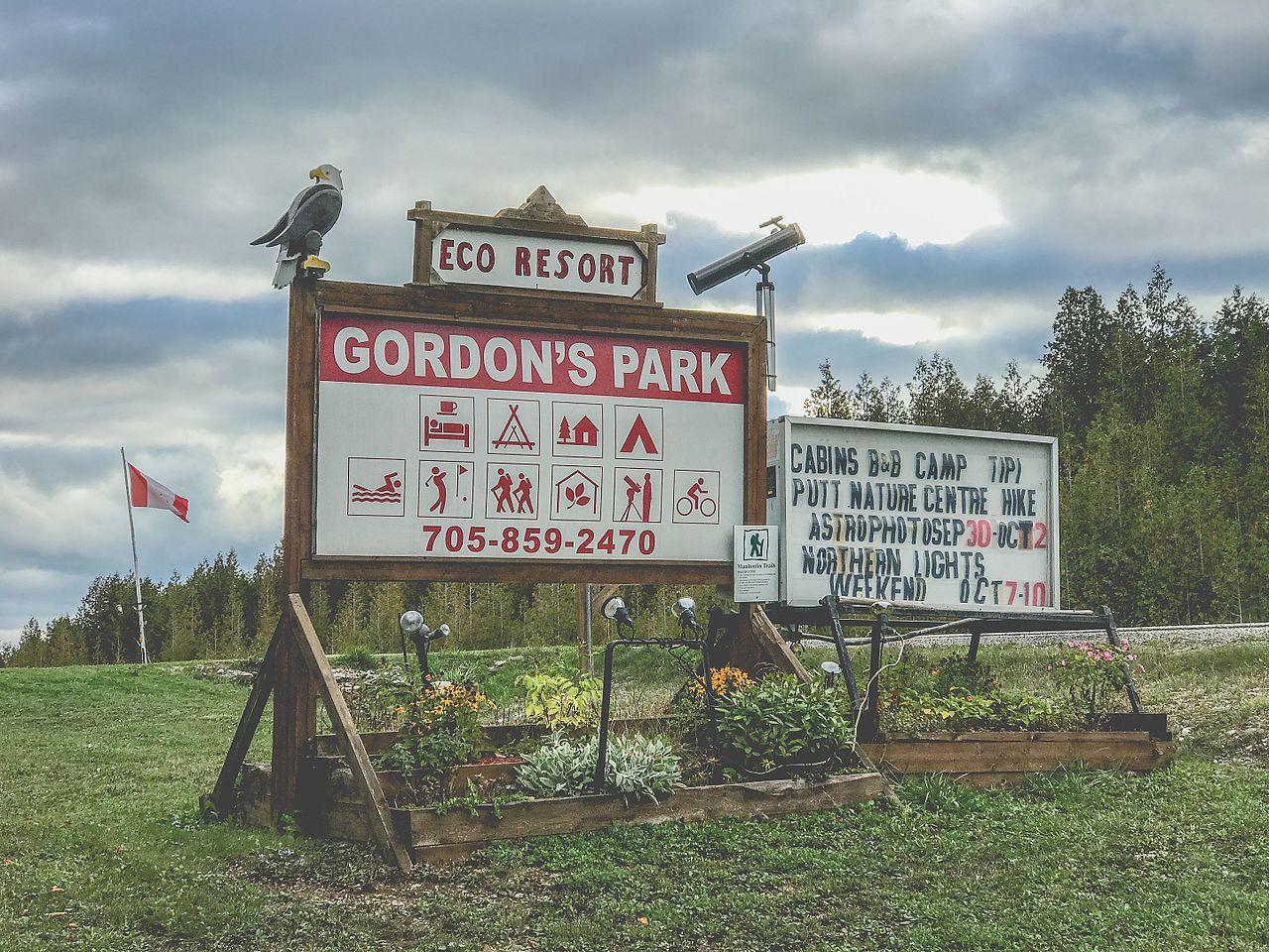 Gordons Park Eco Resort Manitoulin Island