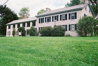 National Register of Historic Places listings in Grand Isle County, Vermont - Image: Gordon Center House, Grand Isle, Vermont