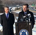 Gov. Malloy- I-84 widening in Danbury is critical for economic growth and traffic congestion mitigation (15721643563).jpg